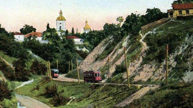 Трамвай на Лукьяновке. 1900-е