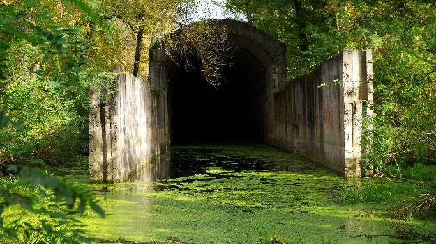 Тоннель под Днепром, сталинское метро (фото 1)