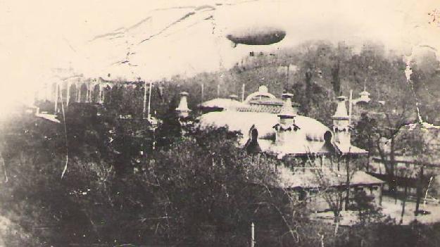 Первый дирижабль в Российской империи