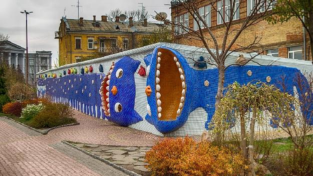 Пейзажная аллея в Киеве