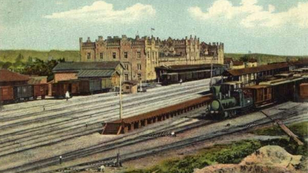 Киевский вокзал - начало 19 - конец 20 века