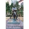 Памятник Михаилу Булгакову на Андреевском спуске.JPG
