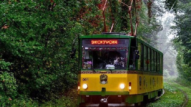 Екскурсія на трамваї в Пущу-Водицю
