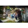 Новой скульптура Алиса на Пейзажной аллее, фото