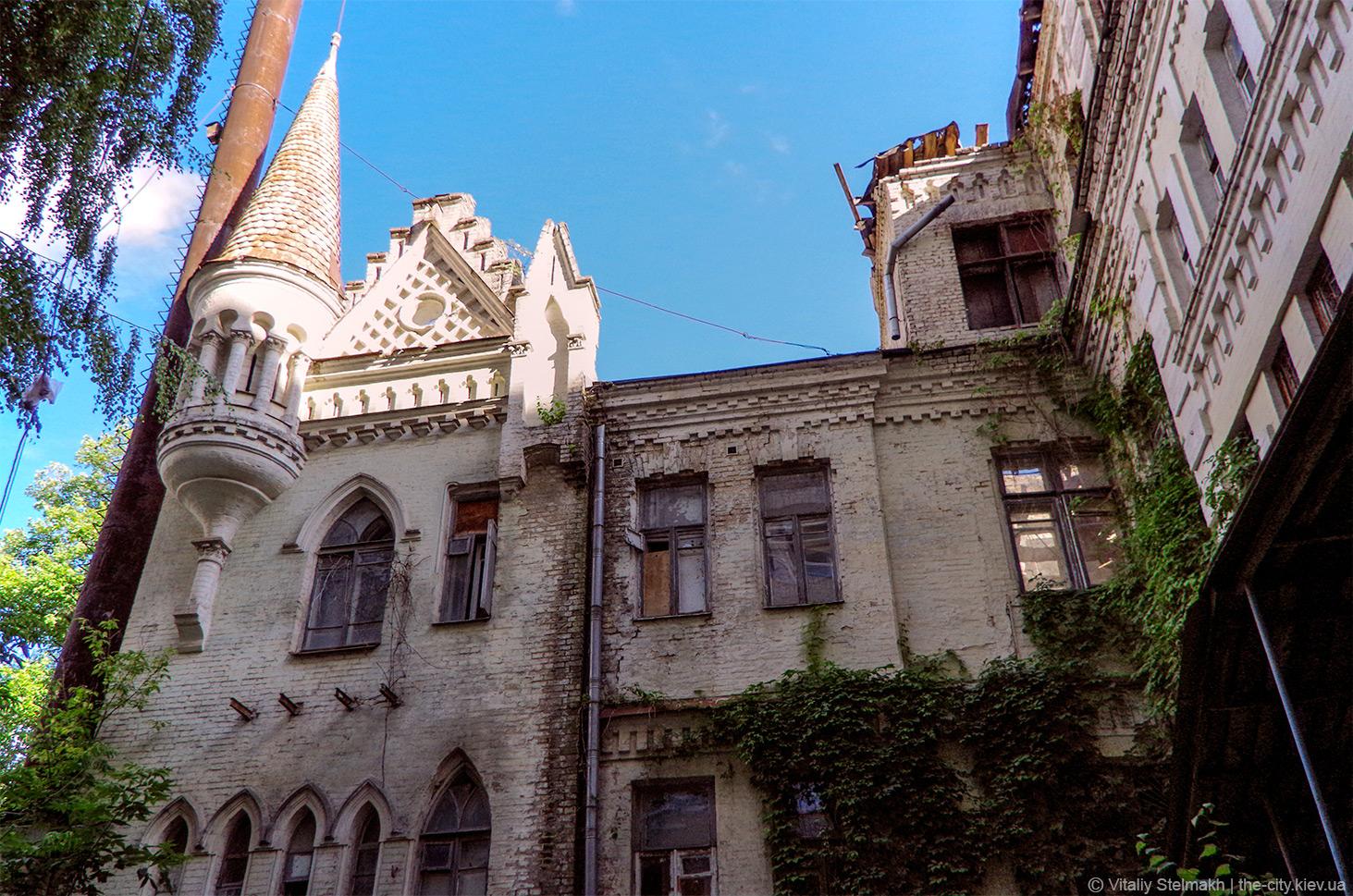 Фото замок барона Штейнгеля