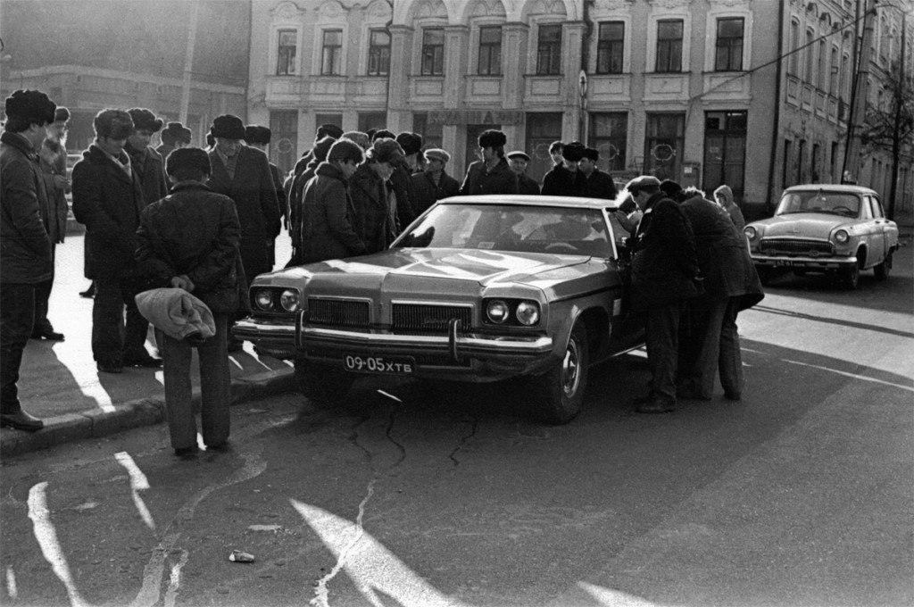 Автомобиль Юрия Тимошенко