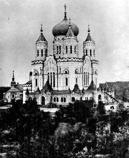 Свято-Пантелеймоновский собор старое фото 1914