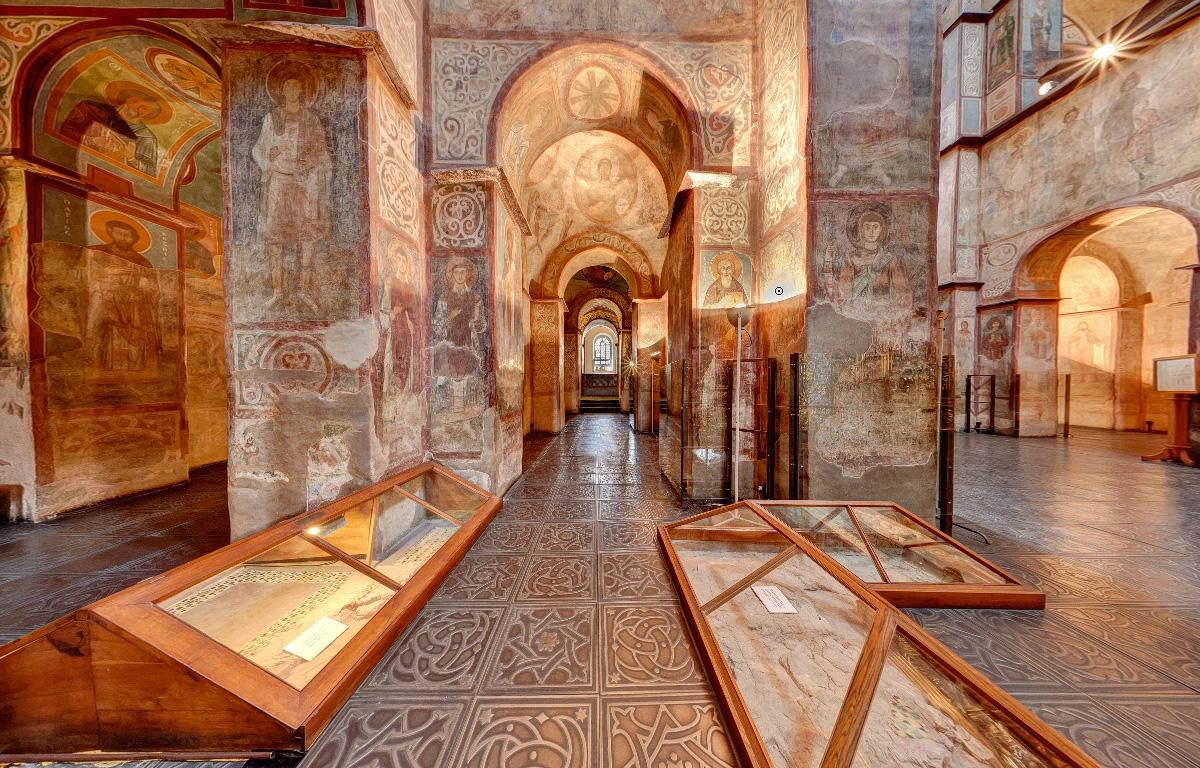 Интерьер Софийского собора