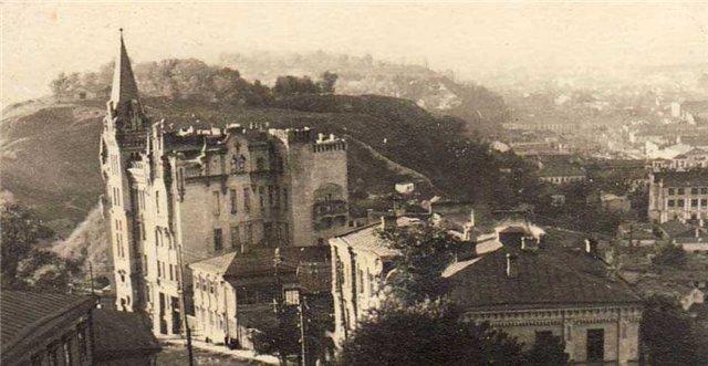 1941 год. Замок Ричарда Львиное сердце